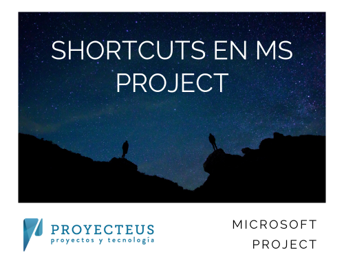 Shortcuts en MS Project